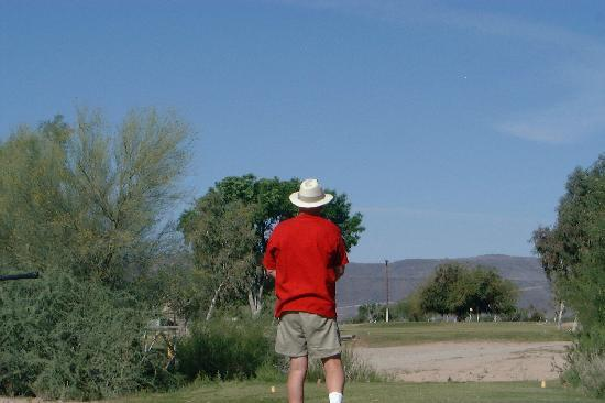 Ajo Country Club Golf Course: The view from 8th Teebox.