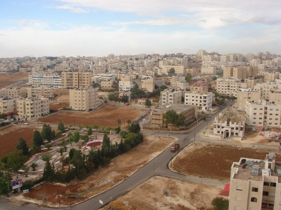 Holiday Inn Amman: City-scape from hotel room