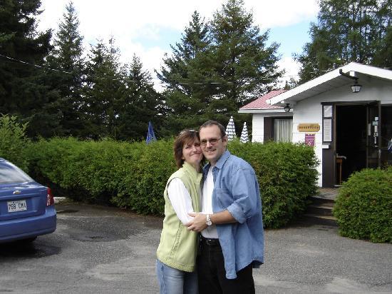 Auberge Mountain View Inn: Zwei liebe Gastgeber