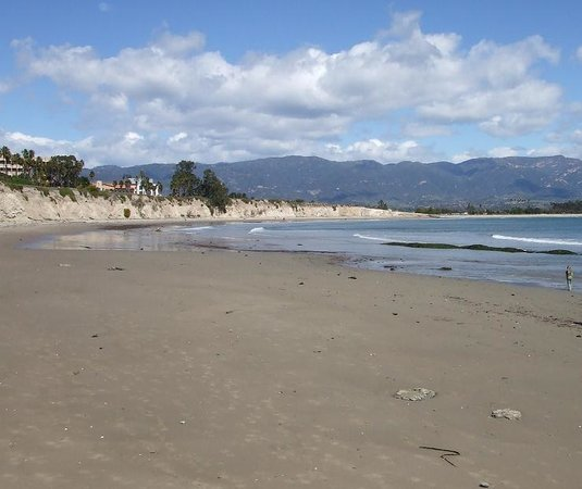 Santa Barbara, Californie : UCSB Beach