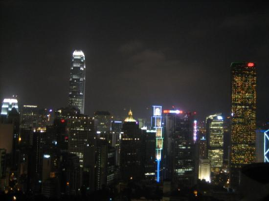 Two MacDonnell Road: The view at night
