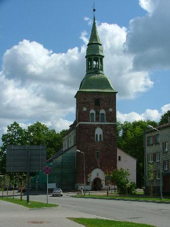 Valmiera's church