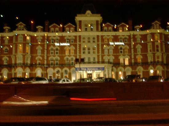 The Imperial Hotel : imperial at night