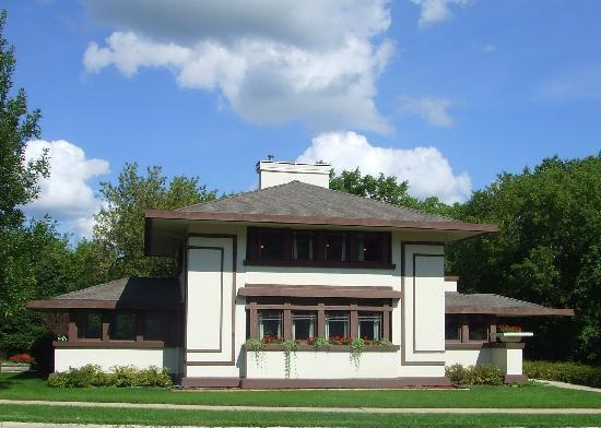 Mason City, Αϊόβα: Frank Lloyd Wright's Stockman House