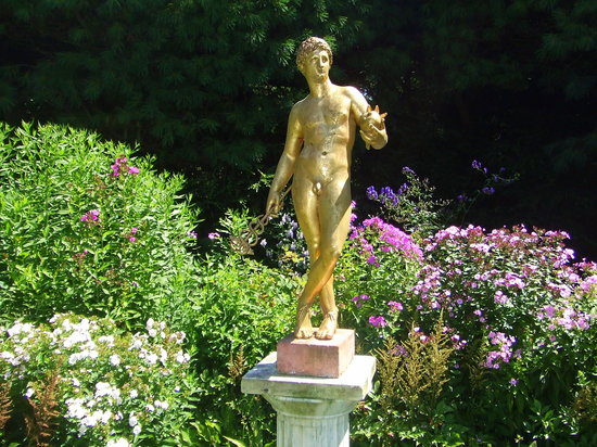 Cornish, Nueva Hampshire: garden sculptures