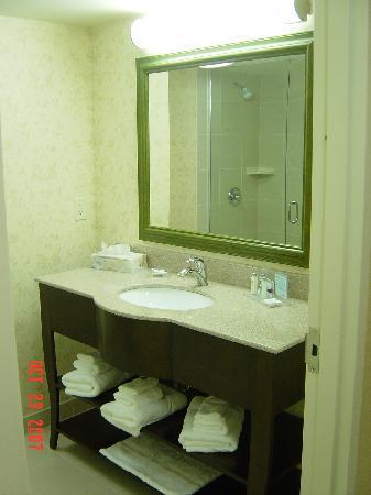 Hampton Inn by Hilton London : bathroom