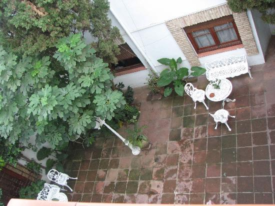 Hotel Albucasis: a view from our room - the hotel's patio
