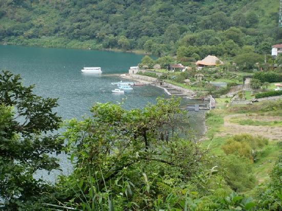 Hotel San Buenaventura de Atitlan: Vue du haut