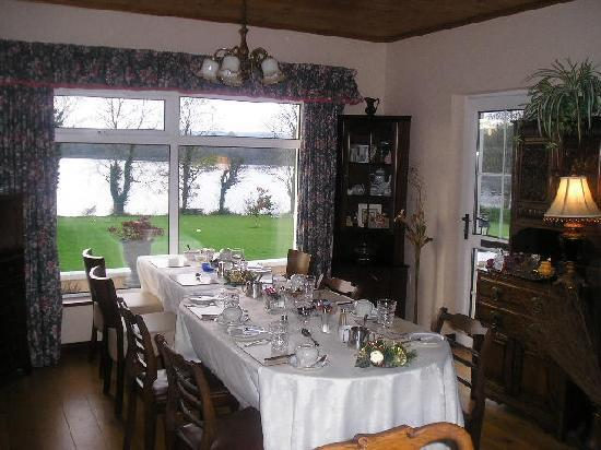 Ballinderg House B&B: Dining Room