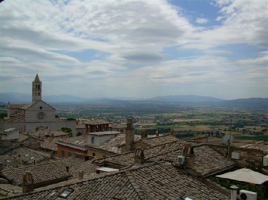 Hotel Restaurant Pallotta Assisi: View from the roof