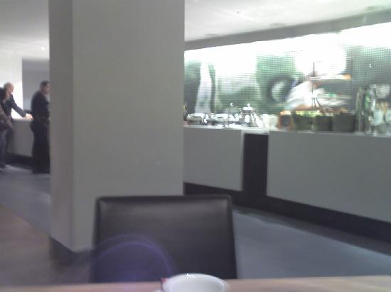 Hotel BLOOM!: Not a good picture... but this is a small part of the breakfast buffet... Overall it was excelle