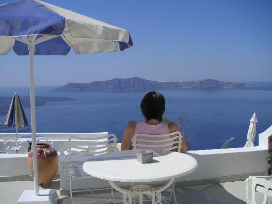 Villa Renos: Private Balcony