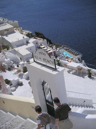Villa Renos: Stairmaster experience rewarded
