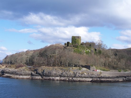 Обан, UK: Oban castle