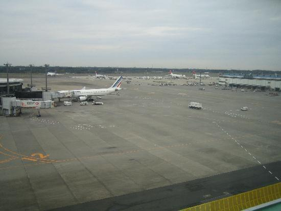 Narita Airport Rest House: View from our window