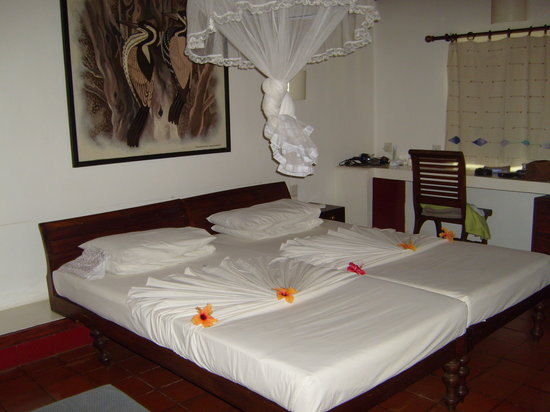 Ranweli Holiday Village: Bed designs