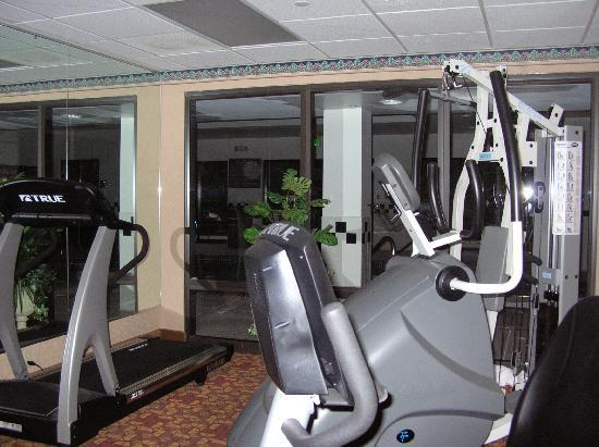 Hampton Inn Olive Branch: Work out area