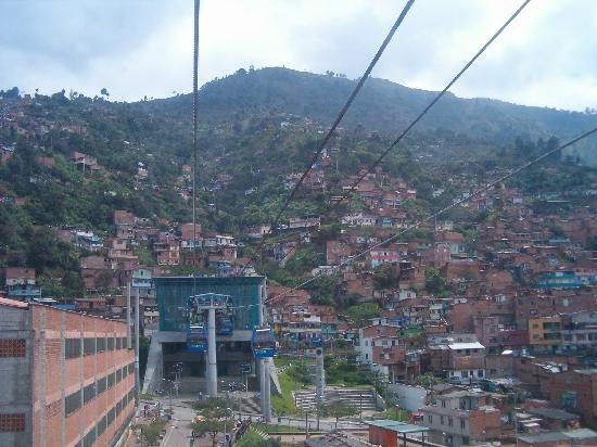 Medellin, Colombia: The Metro Tram Lift