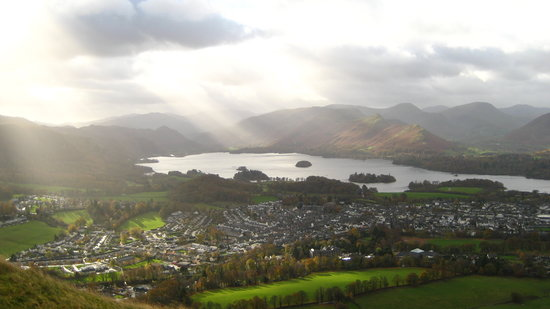 Seven Oaks Guest House : Keswick from Latrigg
