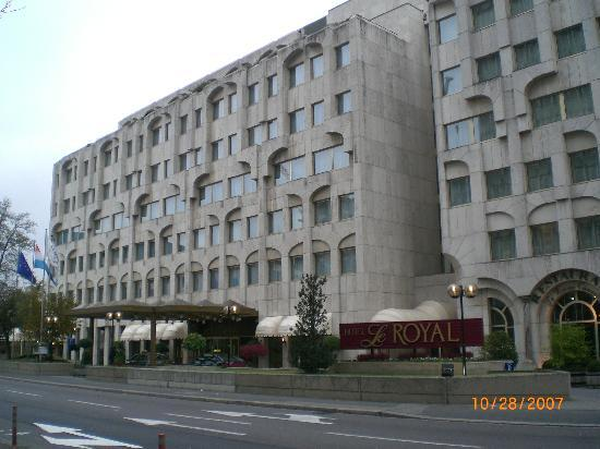Le Royal Hotels & Resorts - Luxembourg : Front of Hotel