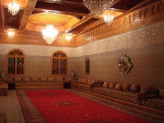 Salon Arabe - Picture of Grand Mogador Menara, Marrakech ...