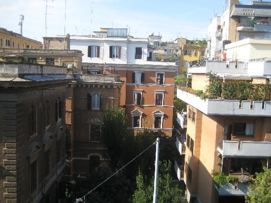Hotel San Valentino: From our hotel window