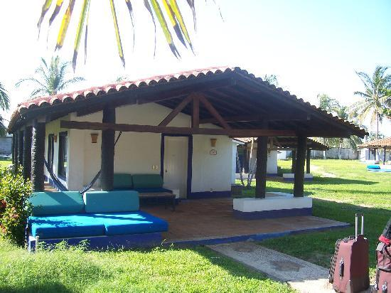 Parador Del Sol Acapulco: our cabin or bungallow