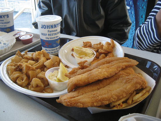 Photo of American Restaurant Johnny's Reef at 2 City Island Ave., Bronx, NY 10464, United States