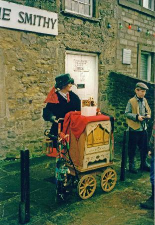 Грэссингтон, UK: Dickensian Festival, Grassington, North Yorkshire, England, United Kingdom