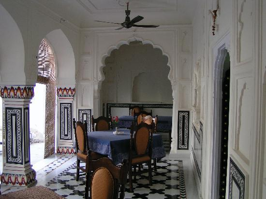 Saba Haveli: part of dinning area