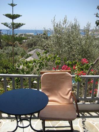 Villa Irini: Blick aufs Meer