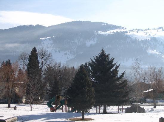 Miller Park Lodge: Miller Park in the Snow