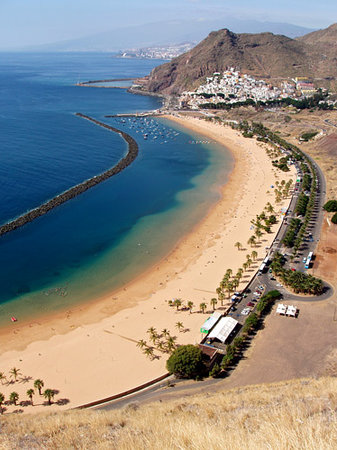 Santa Cruz de Tenerife, España: One of the most spectacular beaches on the island, next to the fishing village of San Andres
