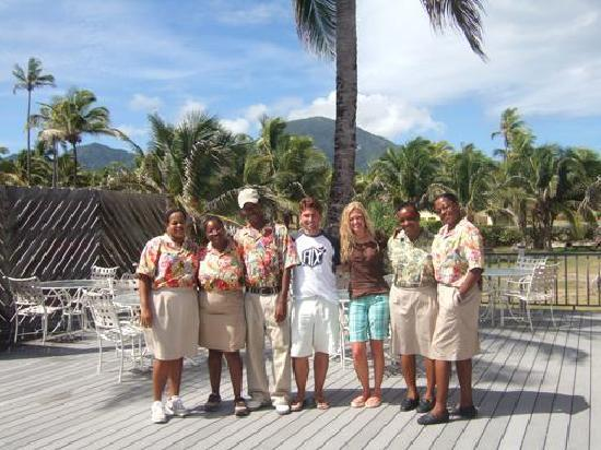 Nisbet Plantation Beach Club: seriously, the BEST staff ever! welcome to your family @ Nisbet! WE MISS YOU GUYS!!