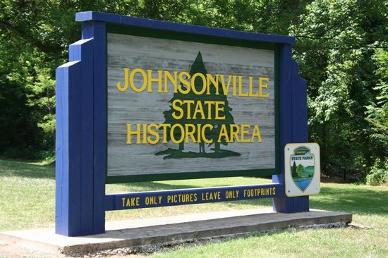 Johnsonville State Historic Park: Johnsonville SP -  State Park Sign... a good rule to live by...