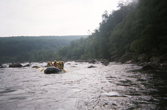 Ohiopyle, Pensylwania: lower yough river