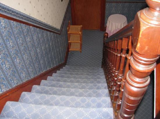Invernook Hotel: uno scorcio delle scale