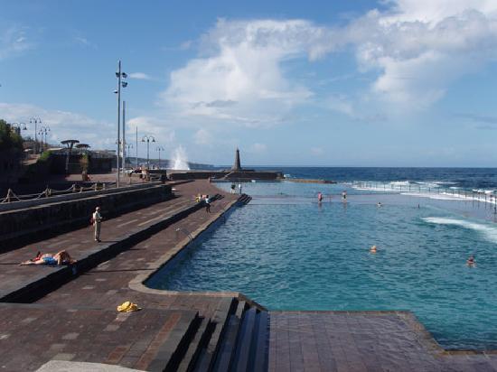 Sea pools in the northern resort of Bajamar