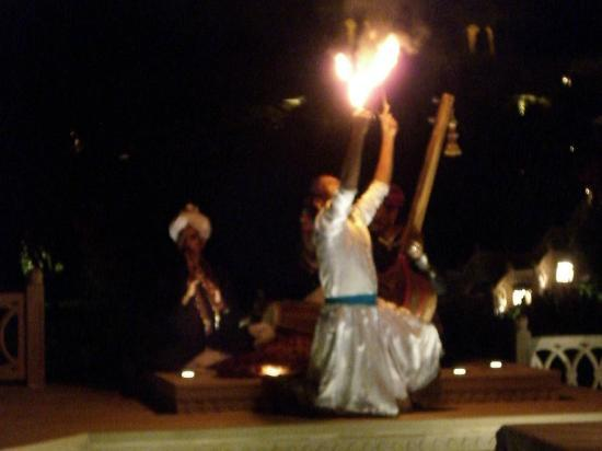 The Oberoi Udaivilas: Dinner Show