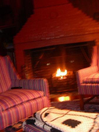 The Inn at Antietam: Smokehouse Suite-fireplace!