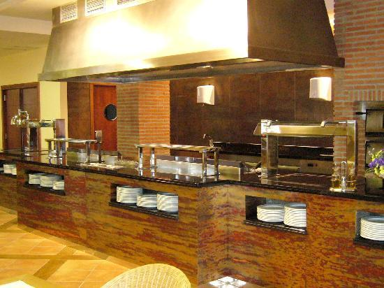 Agh Canet Hotel: Show Cooking