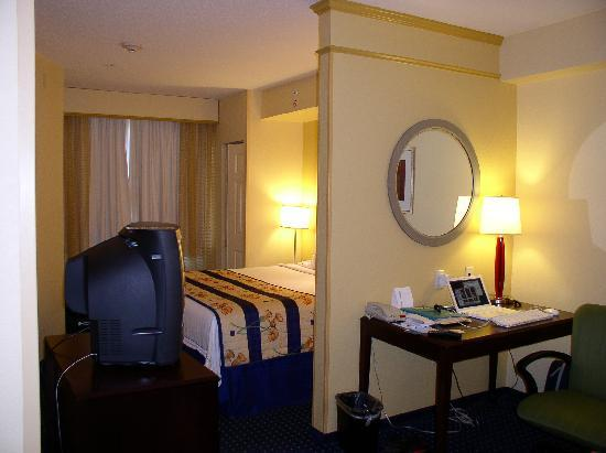 SpringHill Suites by Marriott Greensboro: nice room division