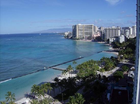 Oahu Hi Waikiki Beach From Resort Quest Hotel