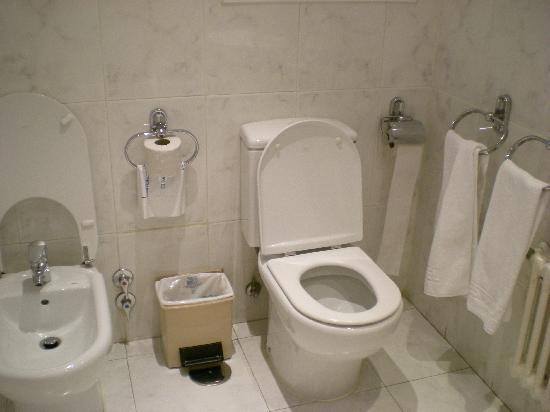 Los Jeronimos: El baño.
