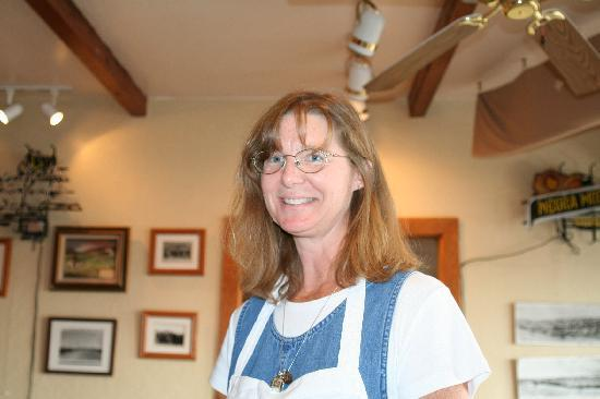 One of the Owners of the Cafe Sonoita