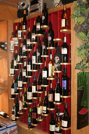 The Cafe: Wine Rack