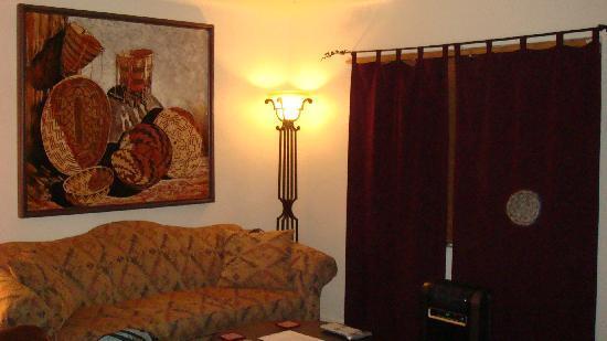 Casas de Suenos Old Town Historic Inn: Pinon Living Room