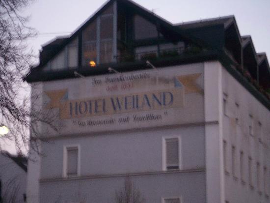 Hotel Weiland: Weiland overlooks the Rhine