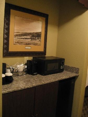 Hampton Inn Austin-Round Rock: Microwave/Ref