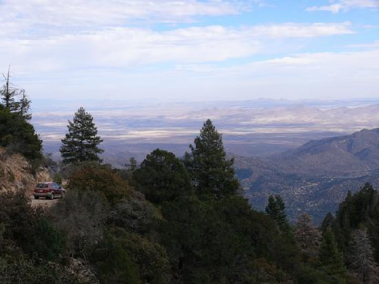 Sunglow Ranch - Arizona Guest Ranch and Resort : Driving in the Chiricahua Mountains